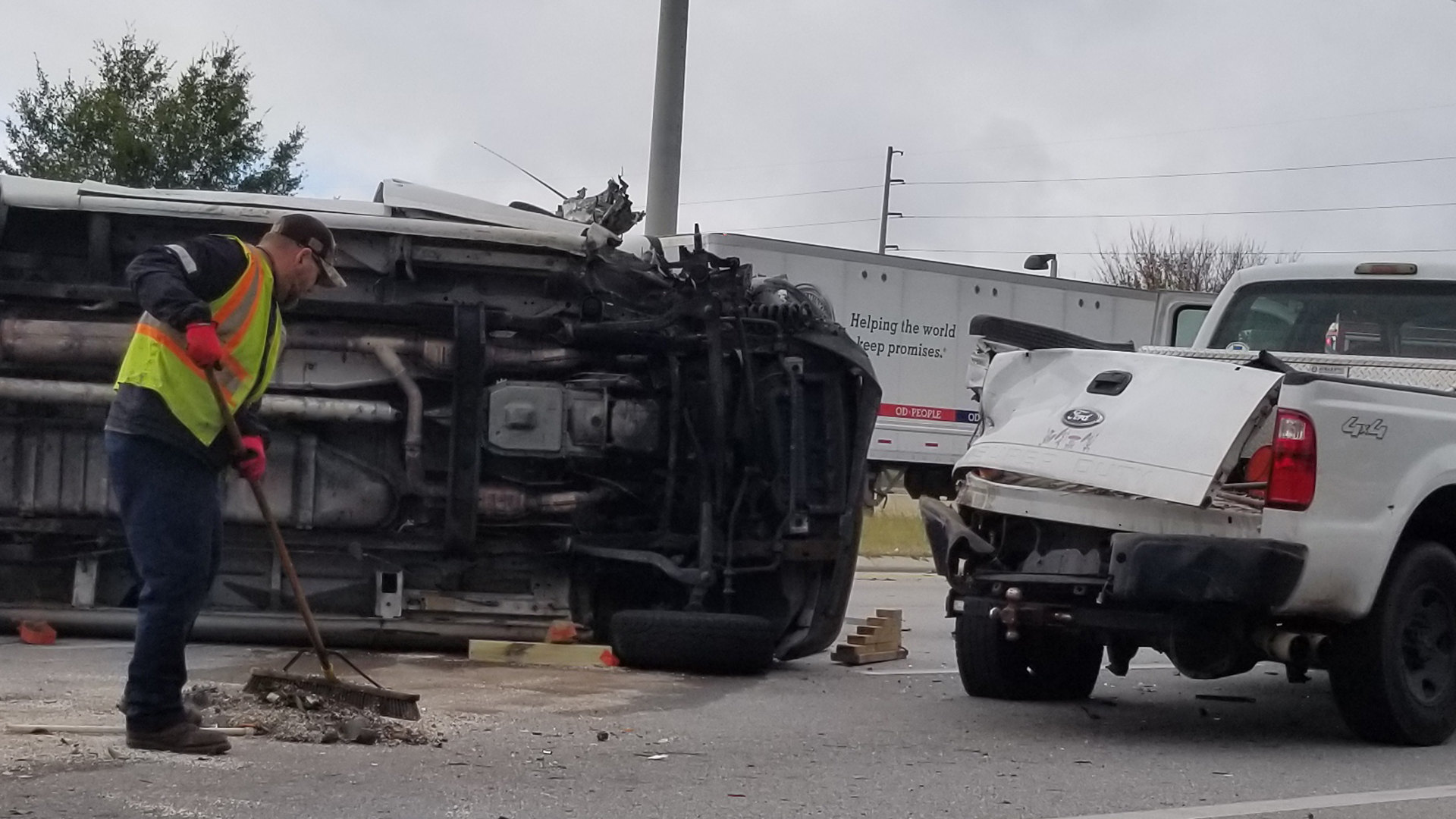 Rollover Accident on Hwy 50 Sends Three to Hospital - Clermont Report